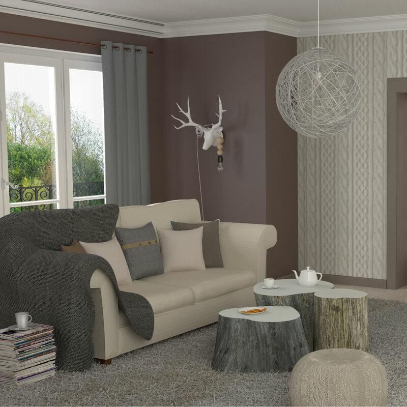 bien au chaud avec les rideaux thermiques 4murs. Black Bedroom Furniture Sets. Home Design Ideas