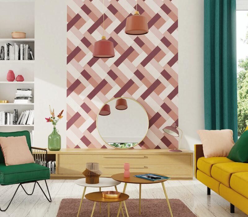 tendance rosewood douceur f minit papier peint. Black Bedroom Furniture Sets. Home Design Ideas