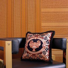 intiss versace greek stripe coloris cuivre cuivre. Black Bedroom Furniture Sets. Home Design Ideas