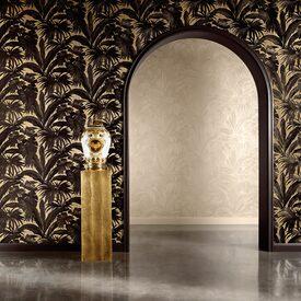 intiss versace giungla coloris noir or papier peint 4murs. Black Bedroom Furniture Sets. Home Design Ideas