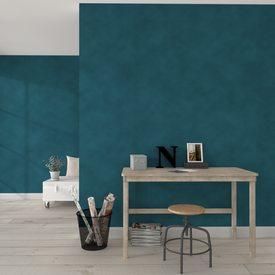 peinture d corative r ve de sable acrylique blanc mat 2 5 l teinte bleu paon mat 2 5 l. Black Bedroom Furniture Sets. Home Design Ideas