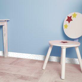 plinthe d co triangolo coloris bleu g n rique 4murs. Black Bedroom Furniture Sets. Home Design Ideas