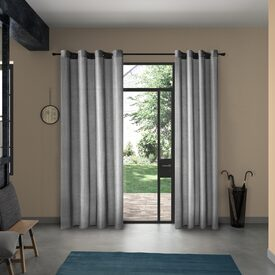 rideau volcanic coloris gris anthracite 140 x 260 cm. Black Bedroom Furniture Sets. Home Design Ideas